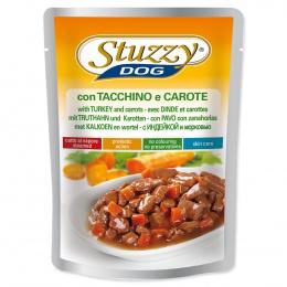 Konservi suņiem - Dog pouch STUZZY Turkey and Carrots, 100 g