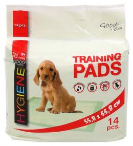 Впитывающие пеленки - Dog Fantasy Training Pads, 55.8 x 55.8 см - 14 шт