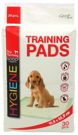 Absorbējošie paladziņi – Dog Fantasy Training Pads, 55,8 x 55,8 cm, 30 gab.