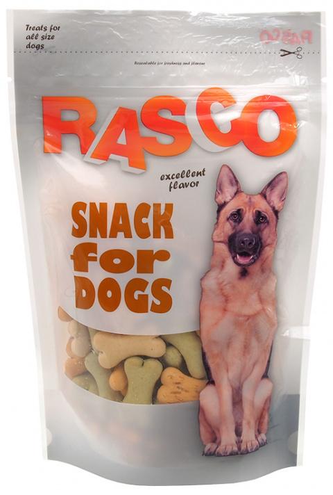Лакомство для собак - Rasco Bones mix 3.5см, 150 гр