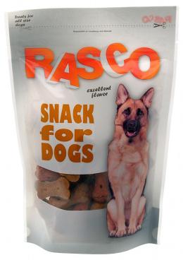 Gardums suņiem - Rasco Bone ar mājpuntu gaļu, 5cm, 150g