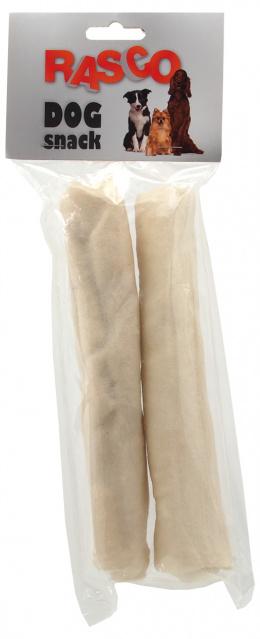 Gardums suņiem - Rasco Buffalo white sticks 20 cm, 2 gab