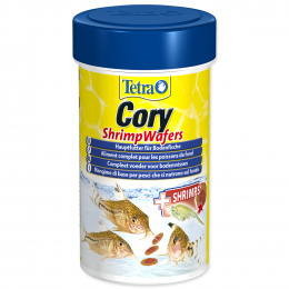 Bar­ība ziv­īm - Tetra Cory Shrimp Wafers, 100 ml