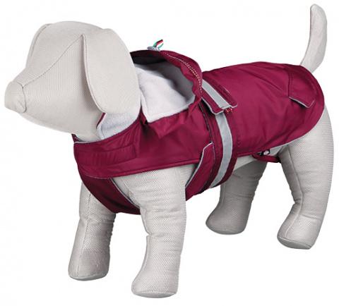 Джемпер для собак - Iseo Coat, S, 33cm, бордовый