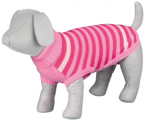Джемпер для собак - Barrie Pullover, XS, 27cm, розовый