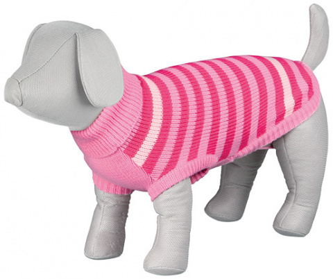 Джемпер для собак - Barrie Pullover, S, 33cm, розовый