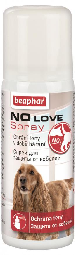 Аэрозоль для самок во время течки - Beaphar No Love Spray for Dogs, 50 мл