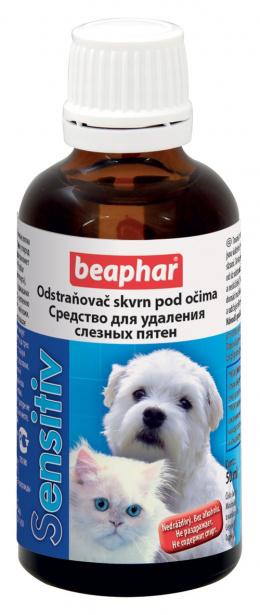 Acu kopšanas līdzeklis - Beaphar SENSITIV, traipu noņemšanai ap acīm
