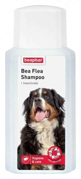 Līdzeklis pret blusām, ērcēm suņiem - šampūns Beaphar, Bea Flea Shampoo 200 ml, bezrecepšu vet.zāles reģ. NR: VA - 072463/3