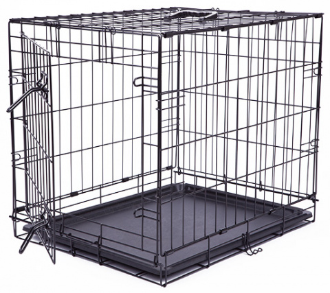 Bokss suņiem - Dog Fantasy Folding Dog Crate, 61x48x46cm title=