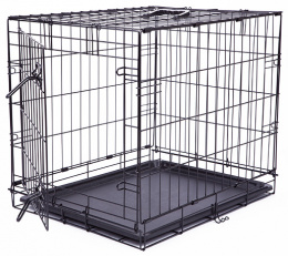 Клетка для собак - Dog Fantasy Folding Dog Crate, 61x48x46 см