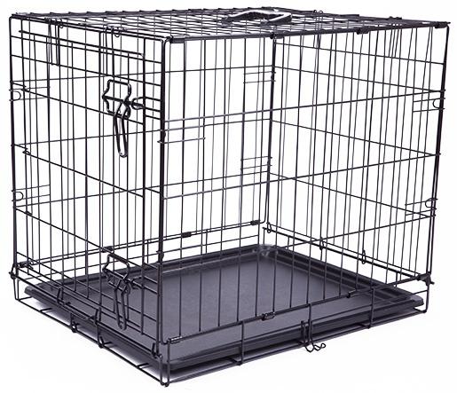 Bokss suņiem - Dog Fantasy Folding Dog Crate, 61x48x46cm