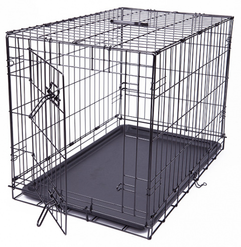 Bokss suņiem - Dog Fantasy Folding Dog Crate, 76*53*48 cm