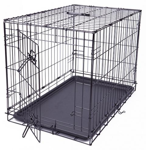 Bokss suņiem - Dog Fantasy Folding Dog Crate, 76*53*48 cm title=