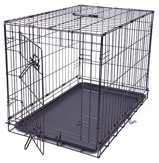 Bokss suņiem - Dog Fantasy Folding Dog Crate, 76*53*48 cm