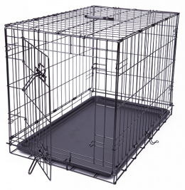Клетка для собак - Dog Fantasy Folding Dog Crate, 76*53*48 см
