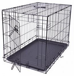 Клетка для собак – Dog Fantasy Folding Dog Crate, 76 x 53 x 48 см