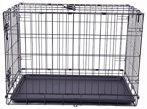 Клетка для собак - Dog Fantasy Folding Dog Crate, 76*53*48 см