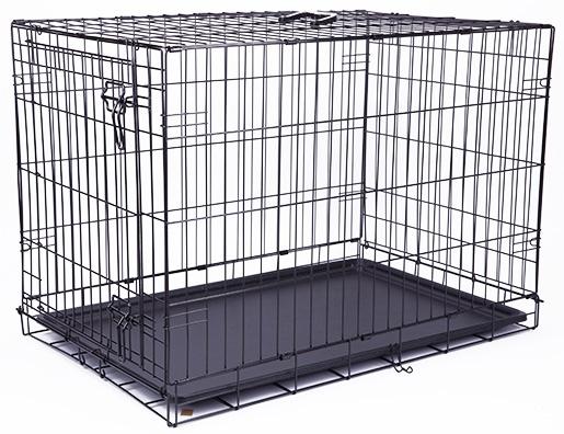 Клетка для собак - Dog Fantasy Folding Dog Crate, 91.5*63.5*58.5 см