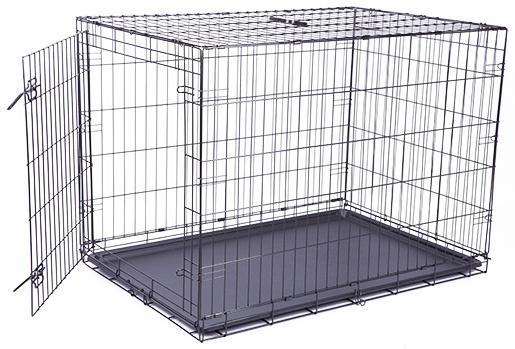 Bokss suņiem -  Dog Fantasy Folding Dog Crate, 106.5*76*71 cm