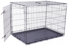 Клетка для собак - Dog Fantasy Folding Dog Crate, 106.5*76*71 см