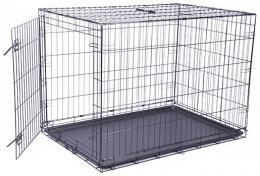 Клетка для собак – Dog Fantasy Folding Dog Crate, 106,5 x 76 x 71 см
