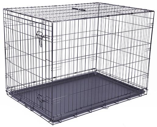 Клетка для собак - Dog Fantasy Folding Dog Crate, 106.5*76*71 см