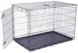 Клетка для собак – Dog Fantasy Folding Dog Crate, 122 x 84 x 76 см