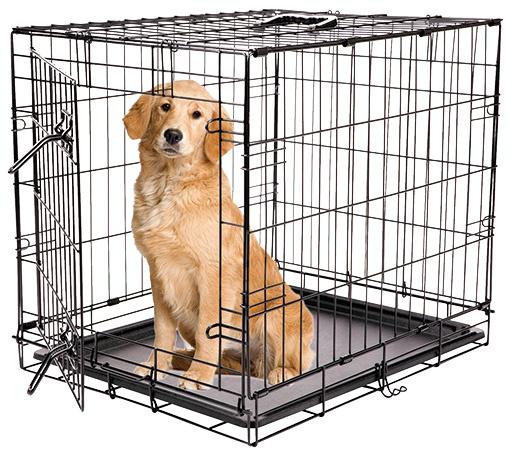 Bokss suņiem - Dog Fantasy Folding Dog Crate, 122*84*76 cm