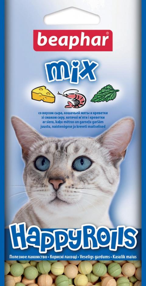Gardums kaķiem - Beaphar Rouletties mix 80 tabl.