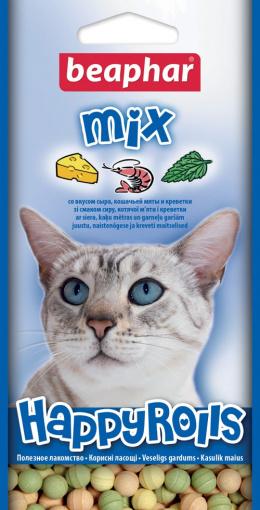 Лакомство для кошек - Beaphar Rouletties mix 80 шт.