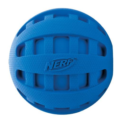 Игрушка для собак - NERF Squeak Checker мяч, 10 cm