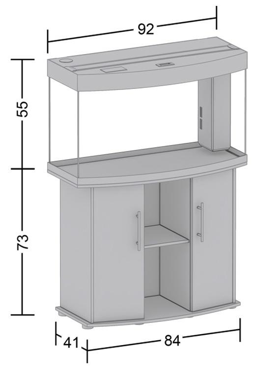 Шкафчик для аквариума - Juwel 180 (for Vision 180) buk