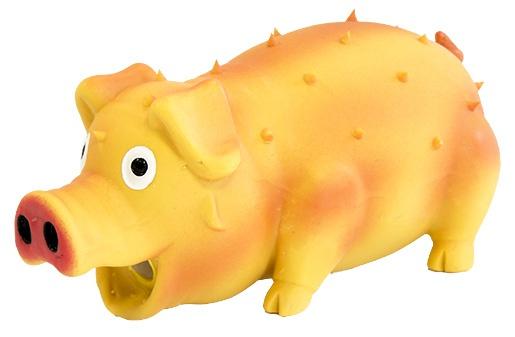 Игрушка для собак - Dog Fantasy Good's Latex pig, 10 cm