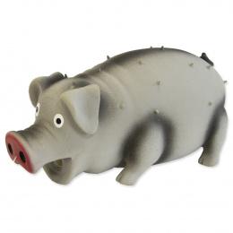 Игрушка для собак – Dog Fantasy Good's Latex pig with sound, mix colors, 15 см