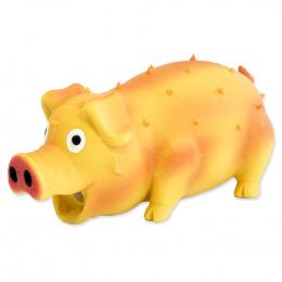 Игрушка для собак – Dog Fantasy Good's Latex pig with sound, mix colors, 21 см