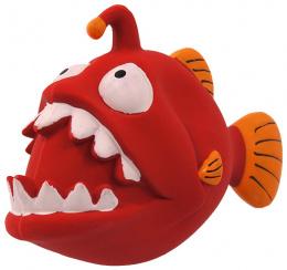 Игрушка для собак - Dog Fantasy Good's Latex fish with sound, red, 18 см