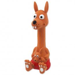 Игрушка для собак – Dog Fantasy Good's Latex sitting animals with sound, mix colors, 18 см