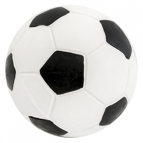Rotaļlieta suņiem - Dog Fantasy Good's Latex football, 10 cm