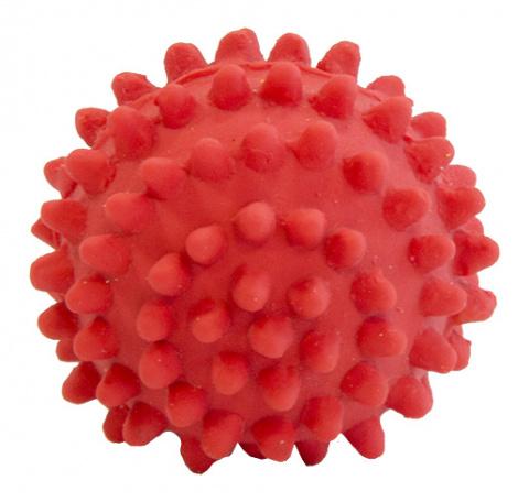 Rotaļlieta suņiem - Dog Fantasy Good's Latex hedgehog balls, 4 cm