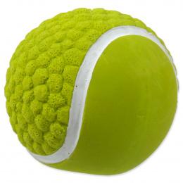 Rotaļlieta suņiem - Dog Fantasy Good's Latex tennis ball with sound, green, 7.5 cm