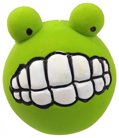 Rotaļlieta suņiem - Dog Fantasy Good's Latex teeth ball, 6 cm