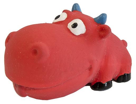 Игрушка для собак - Dog Fantasy Good's Latex big head animals mix, 9 cm