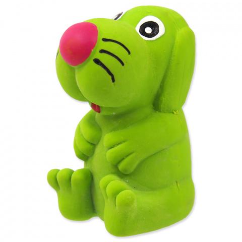 Rotaļlieta suņiem - Dog Fantasy Good's / lateksa suns ar skaņu / krāsu mix title=