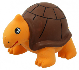 Rotaļlieta suņiem - Dog Fantasy Good's Latex turtle with sound, 8 cm