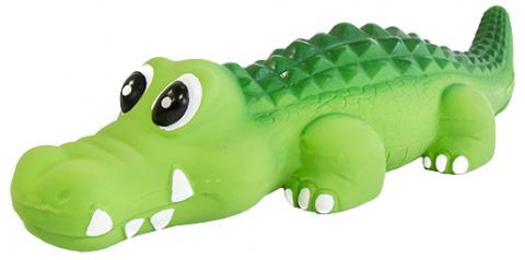 Rotaļlieta suņiem - Dog Fantasy Good's / lateksa krokodils ar skaņu