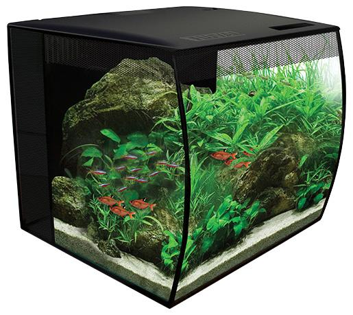Akvārijs - Fluval Flex, 34 l, krāsa - melna