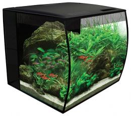 Аквариум с LED освещением - Fluval Flex, 34 l, цвет - черный