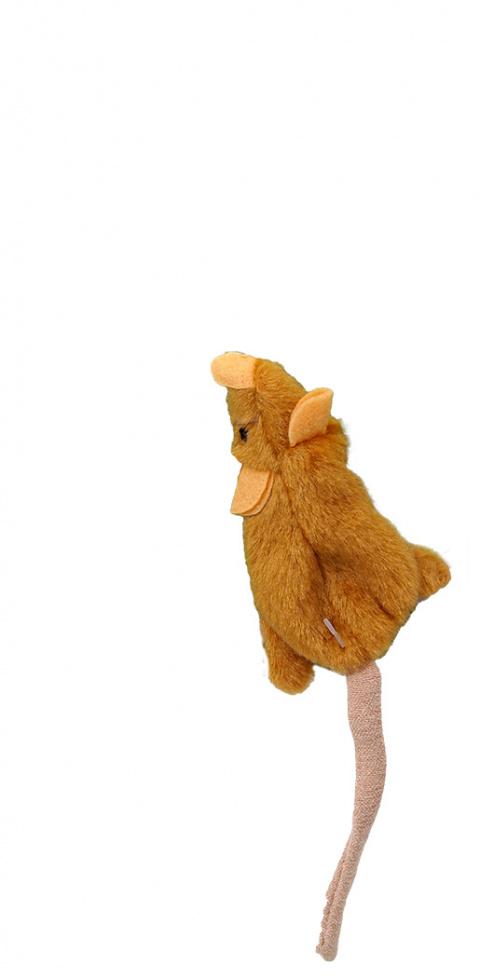 Игрушка для кошек - Magic Cat Good's Skinneeez mouse, 15 см