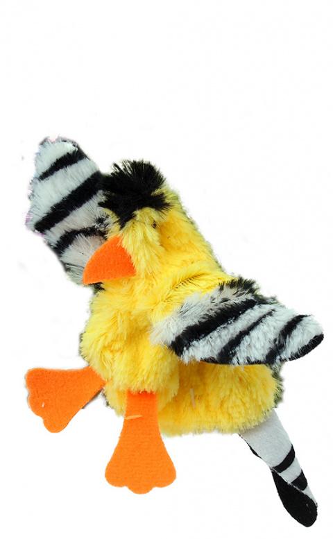 Rotaļlieta kaķiem - Magic Cat Good's Skinneeez goldfinch, 20 cm